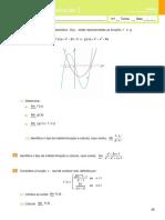 Miniteste de Avaliação 2- Funções Reais de Variável Real(Enunciado e Soluções)