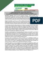 Boletín 03. Zonal Del Norte y Bajo Cauca. Juegos Departamentales