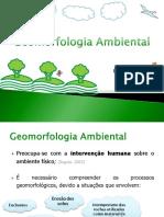 XIX - Geomorfologia Ambiental