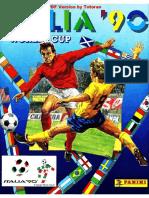Album Panini Mundial 1990 Italia