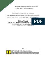 CMB 1 - Sistem Manajemen Keselamatan Kesehatan Kerja Proyek  (SMK3).pdf