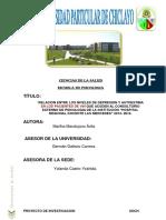 Proyecto de Investigacio en Las Mercedes Marta