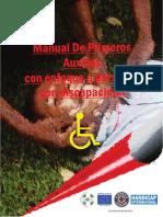 Manual Primeros Auxilos Enfoque Personas Discapacidad Version Espanol