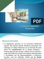 La Deuda Tributaria Municipal