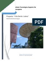 Proyecto Abastecimiento de Agua - Villa Benito Juarez