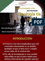 Geologia de Tuneles