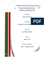 Bases de Diseño de Sistemas de Alcantarillado