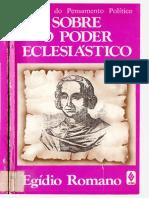 Sobre o poder eclesiástico (Egídio Romano)[315]