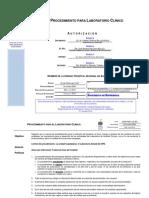 Dom-p065-Hr2 003 Procedimiento Para Laboratorio Clinico