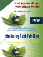 Materi 13 (Peran Agama dalam Berkehidupan Politik).pptx