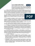 AGROTÓXICO O Programa Avança No Estado de São Paulo