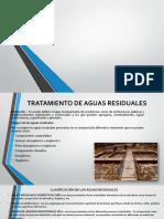 Tratamiento de Aguas Residuales - Diapositivas