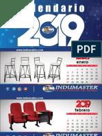 Calendario para venta de insumos de oficina