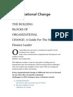 Organisational Change - BPM - Oracle