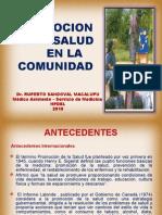 Promocion de La Salud en La Comunidad 2010