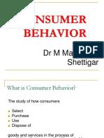 Consumer Behaviour - Class