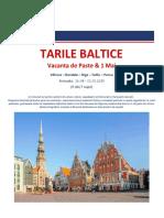 Paste 2019 - Tarile Baltice