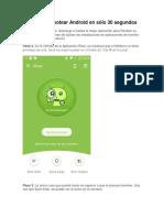 Pasos Para Rootear Android en Sólo 30 Segundos