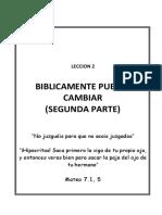 02 Biblicamente Puedes Cambiar LECCION 2