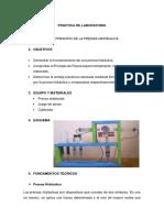 Informe de Labo Prensa Hidraulica