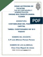 PASIVO Y CAPITAL