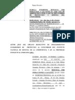Modelo Denuncia Por Inconducta Funcinal Corte Superior 119ene2017
