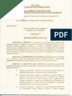 LEY DE TURISMO BOLIVIA TE ESPERA 292