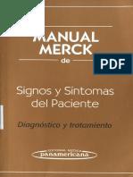Manual Merk de Signos y Sintomas