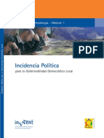 Manual Incidencia Politica
