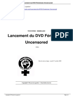 Lancement Du DVD F Minisme Uncensored a3948