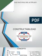 diapositivas constructabilidad