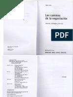 Los caminos de la negociacion.pdf