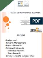 Team vs Individual Rewards by Mr. Abdillahi Mutwafy