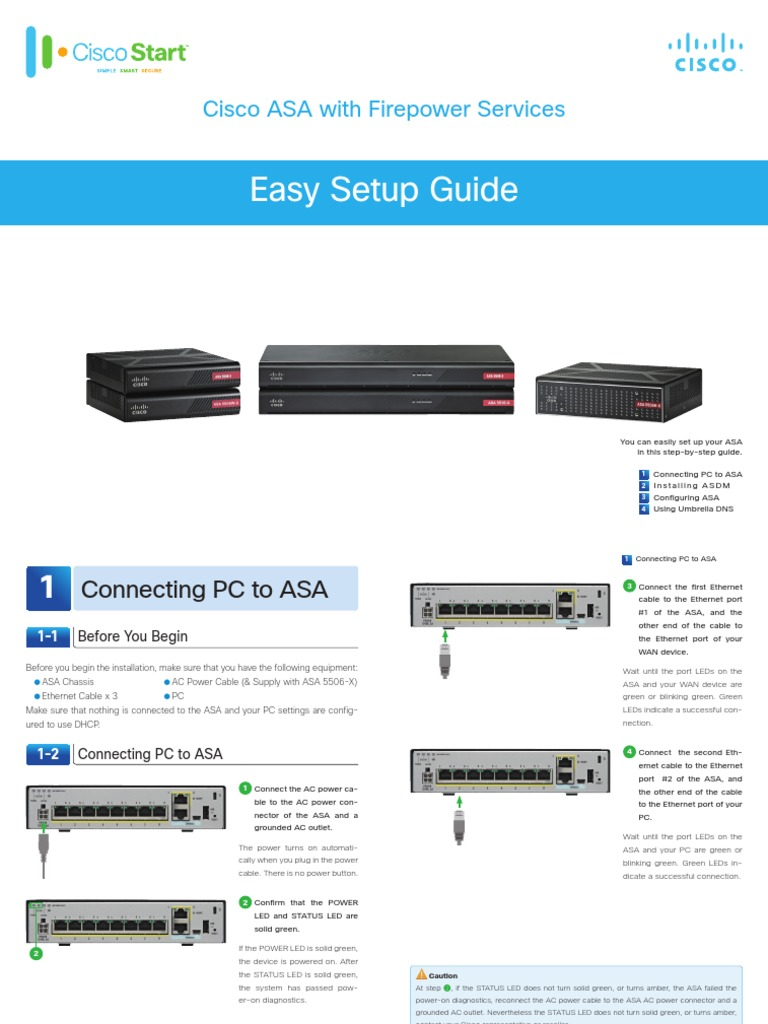 Cisco ASA Easy Setup Guide Updated | Domain Name System | Ip