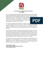 Comunicado FARC