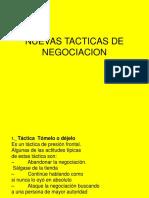 Nuevas Tacticas de Negociacion