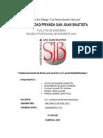 CONSOLIDACIÓN DE SUELOS ARCILLOSOS ANTE FLUJOS BIDIMENCIONALES