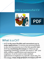 How to write a successful CV.ppt