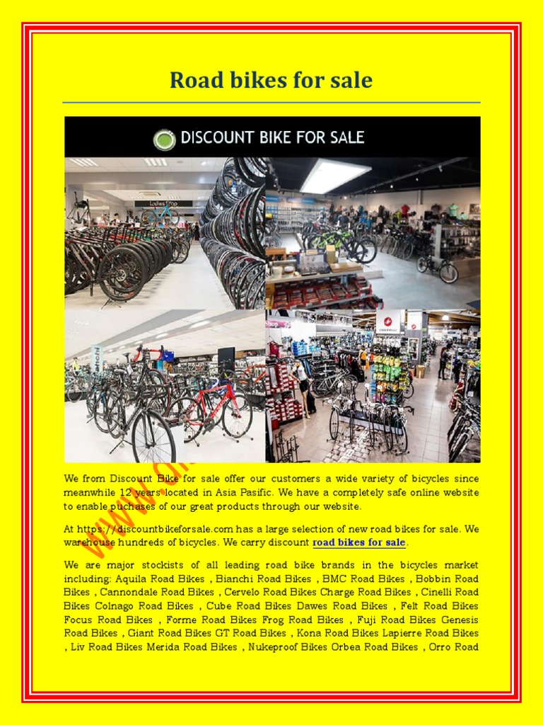 Road Bikes for Sale | The United States | Economies