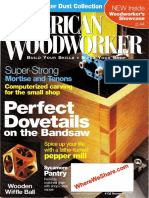 American Woodworker #132 - Dovetails on a Bandsaw