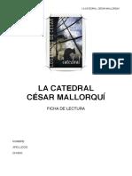 Guía de lectura - La Catedral