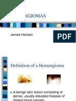 Hemangioma Presentation