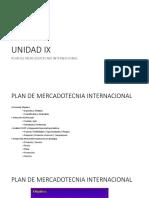 Unidad IX_Mercadotecnia Internacional