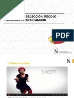 S02 - L1 - Procesos de Selección Análisis y Recojo de La Información
