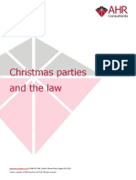 Christmas Parties and the Law