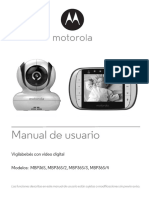 Manual usuario monitor bebe Motorola