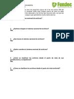Test de Preguntas Ley 594