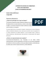 Sensores Ultarsonicos y Electromagneticos