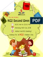 KG2 Second Open Day