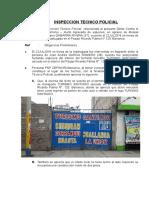 Inspeccion Tecnico Policial - Hurto Agravado Especies